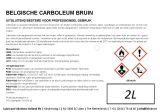 Belgische carboleum bruin 2L | Kuiper Koekange