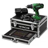 Hitachi 100-delige bit-boren-doppenset incl. DS18DJL | Kuiper Koekange