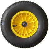 Kruiwagenwiel geel zware uitvoering | Kuiper Koekange